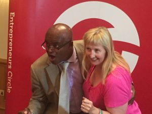 Kim and Kriss Akabusi sprinting to profit Improvement
