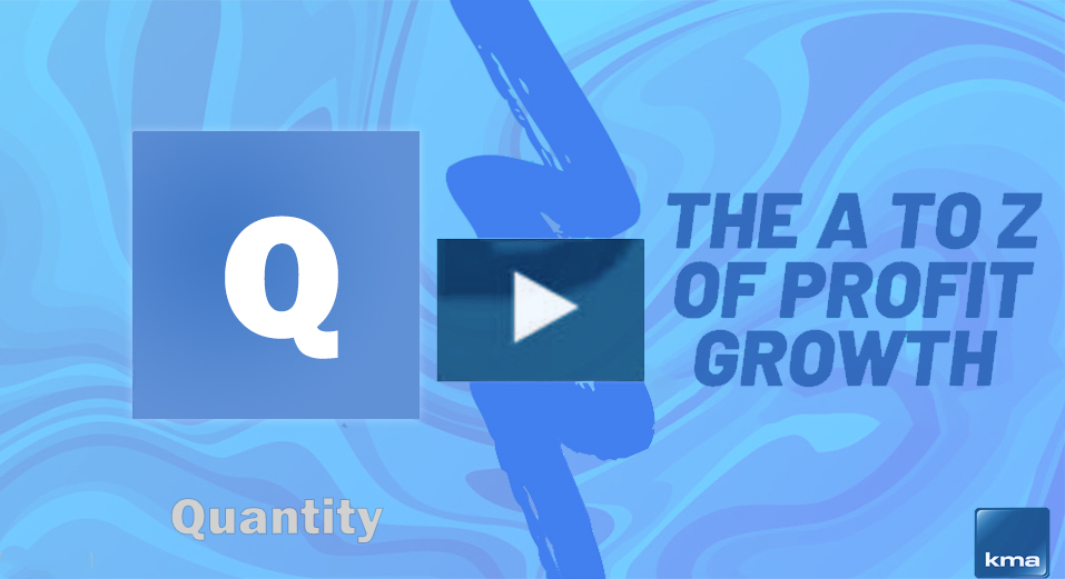 Q is for Quantity