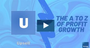 U is for Upsell